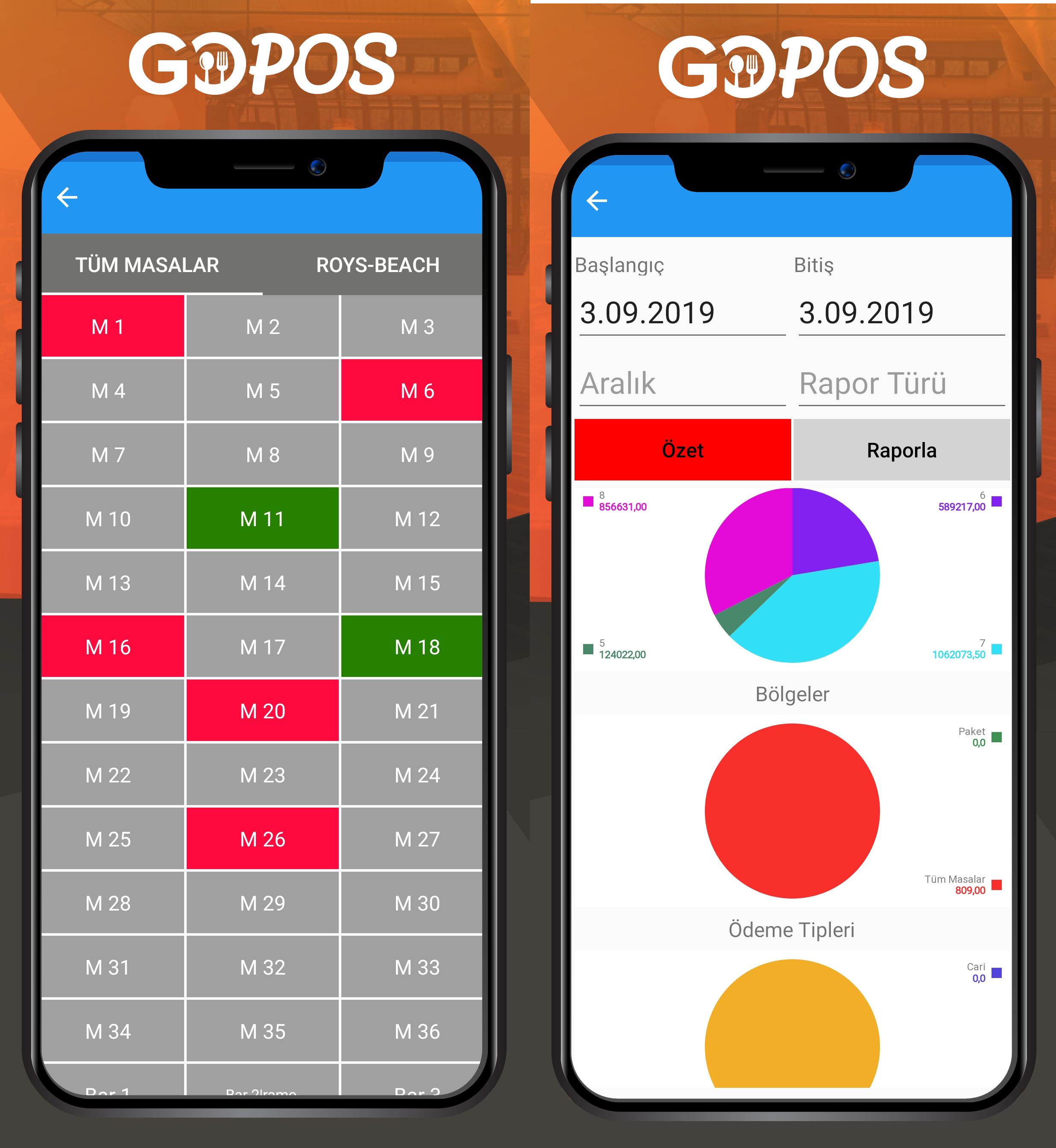 En İyi iOS Mobil ve Tablet Adisyon Uygulamasi